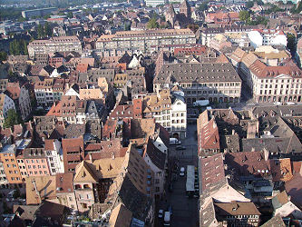 Altstadt von Strasbourg/Elsass