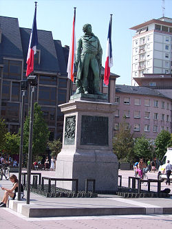 General Klber Denkmal in Strasbourg, Elsass